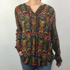 Old Navy colorful floral tunic